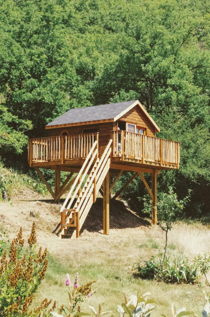 Une Cabane à Saint-Vincent-sur-Jabron