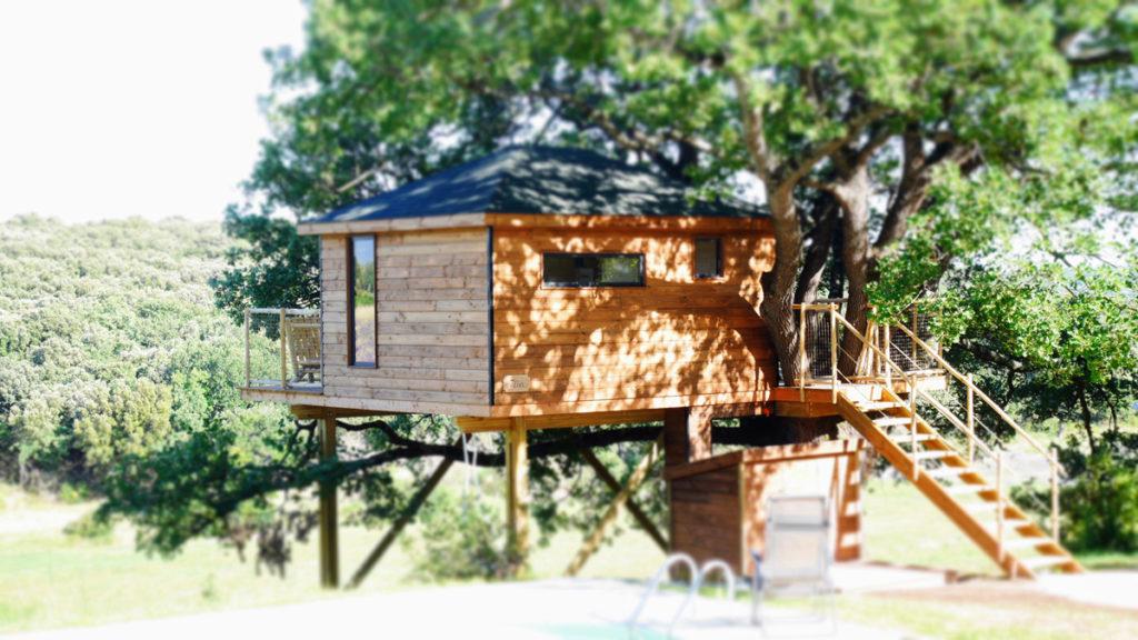 Une Cabane à Réauville