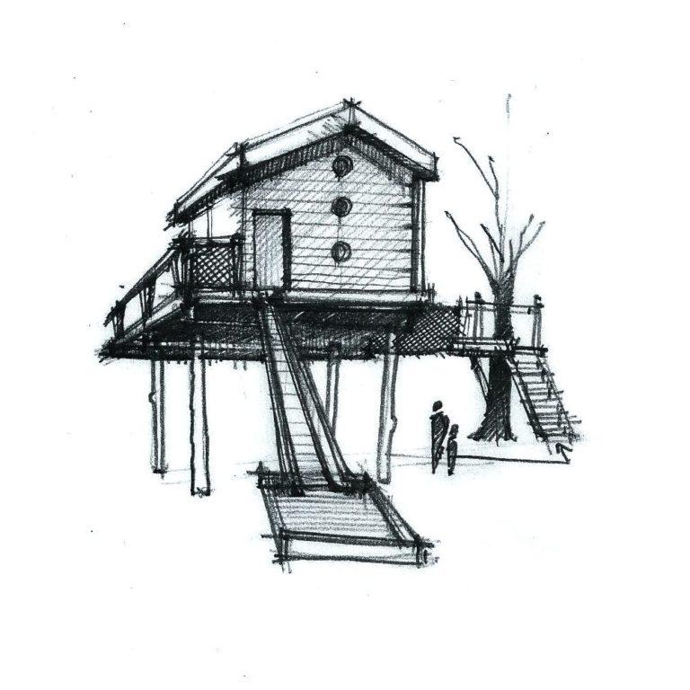 Une Cabane à Rousset